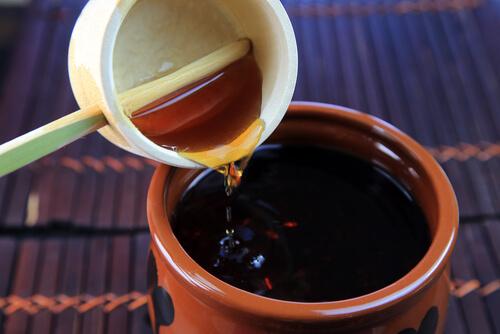 黒酢もろみ乾燥末